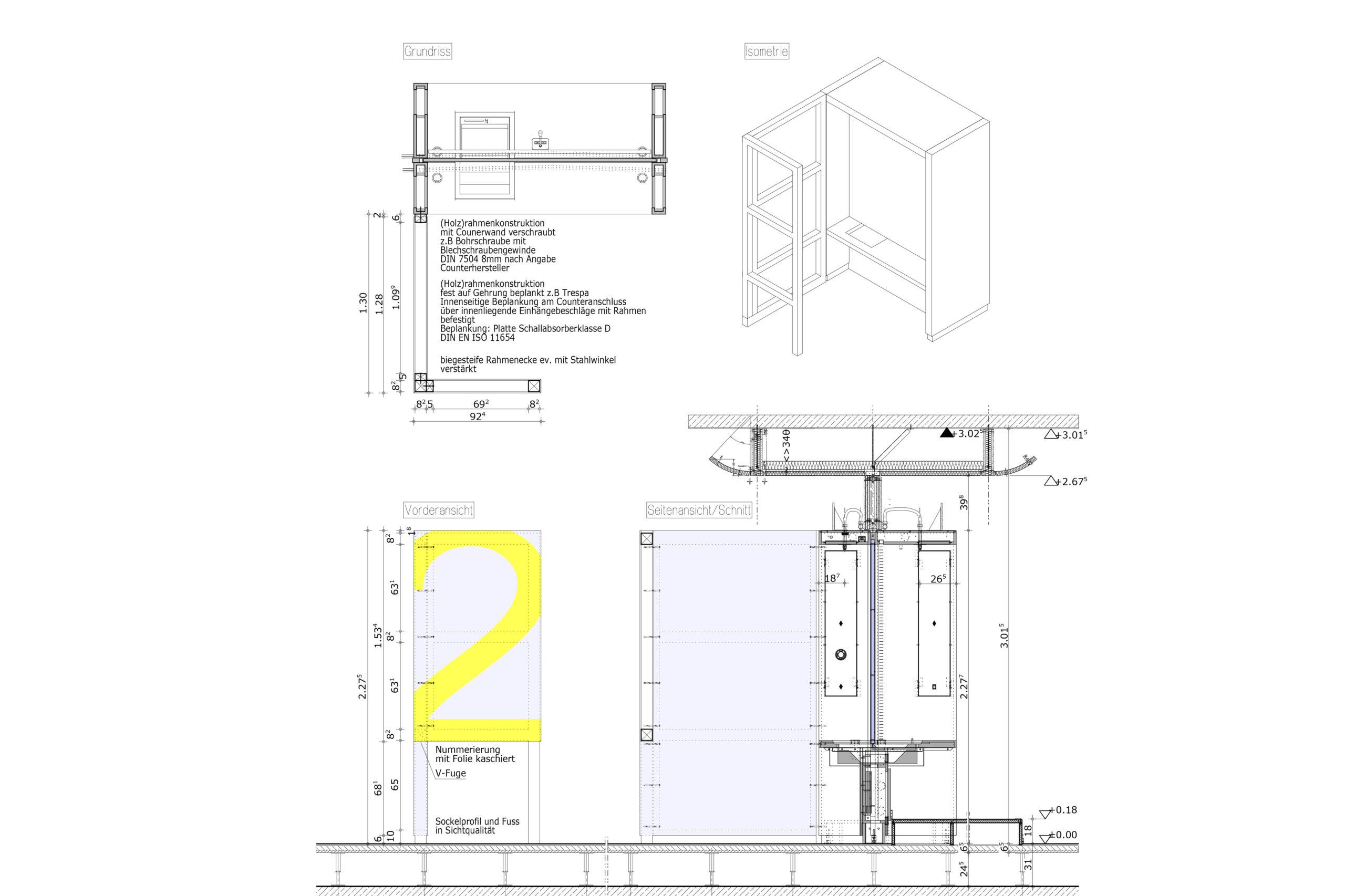 """SKY OFFICE"" Mieterausbau Zimmermann Architekten+ Aachen"