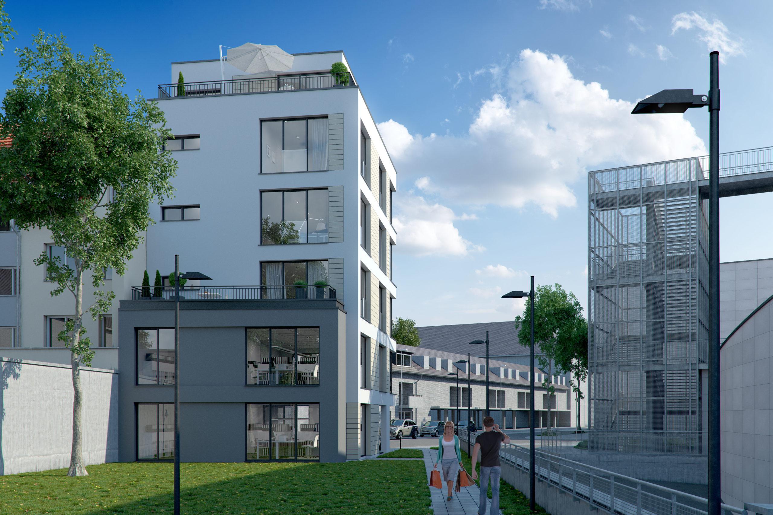 Wohn- und Geschäftshaus, Aachen I Zimmermann Architekten+ I Aachen