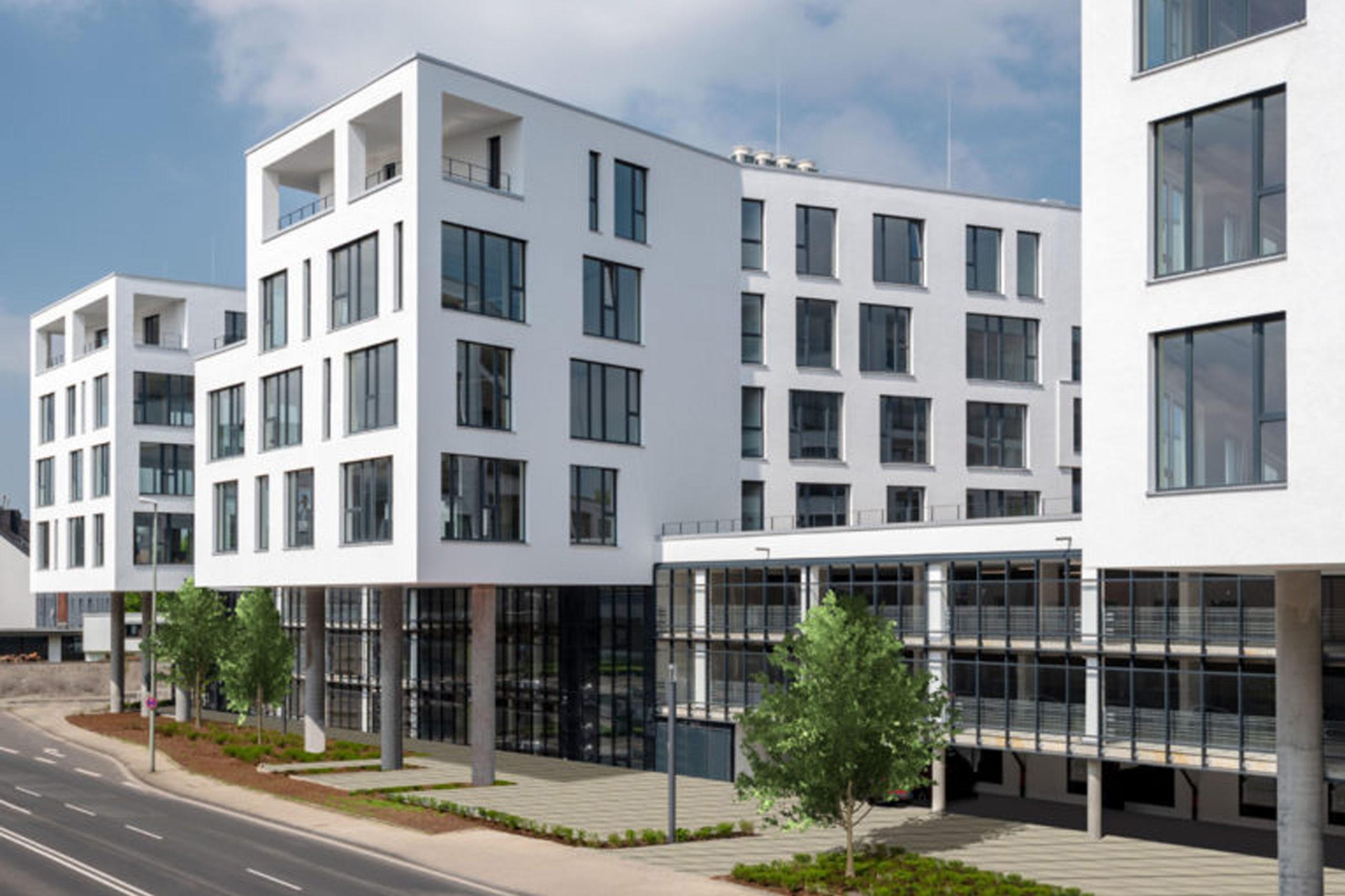 Zimmermann Architekten I Aachen Wohnanlage, Büro- und Gewerbeflächen, Roermonder Höfe, Mönchengladbach